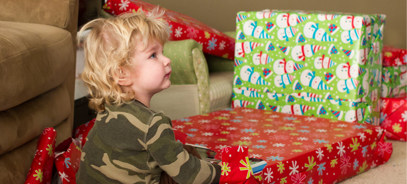 "<a href=""#"">The holidays are particularly tough on children</a><span>Receiving a gift provides some stability and happiness while a parent serves their country.</span>"